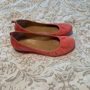 J. Crew Ballet Flats - Tangerine